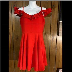 B. Darlin Red Dress. Sz: 11/12